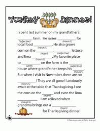 mad libs and brain breaks mad thanksgiving
