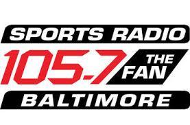 105 7 the fan baltimore 105 7 the fan flash briefing sports radio 105 7 fm