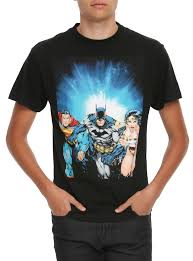 spirit halloween batman shirt dc comics batman superman wonder woman trinity t shirt topic
