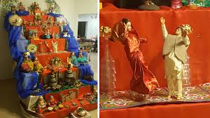 Decoration For Navratri At Home These Hindu Doll Displays Could Rival Our Best Christmas Tree