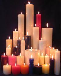 candles all shapes and sizes pillar candles and more usa made