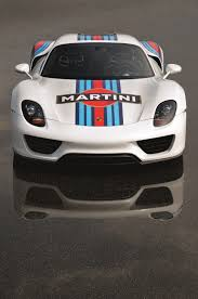 martini livery motorcycle porsche 918 spyder gets legendary martini racing team brand livery