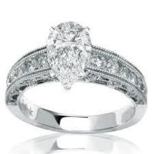 Vintage Style Cushion Cut Engagement Rings 35 Best Wedding Bride Engagement Images On Pinterest Pear