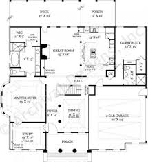 House Plans With 2 Master Suites by Ryefield Classical House Plan House Plan Designer