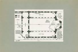 research archives monastery of st john of studios ground plan