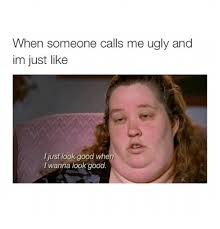 Ugly Girl Meme - when someone calls me ugly png
