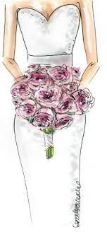 wedding flowers drawing capture your wedding day