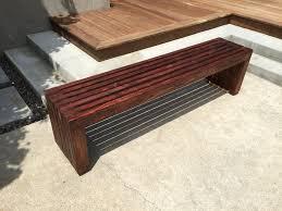Wooden Bench Design Furniture Interior Gallery Base Home Design