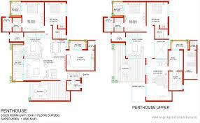 five bedroom floor plans 5 bedroom duplex building plan in nigeria escortsea