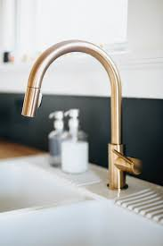 gold faucet kitchen home design styles