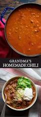 best 25 homemade chili recipes ideas on pinterest homemade