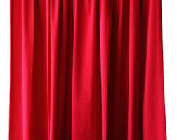 Theater Drape Cheap Curtains Etsy