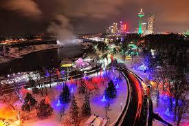 Halloween Path Lights by Niagara Falls Will Turn Into A Dreamy Winter Wonderland This