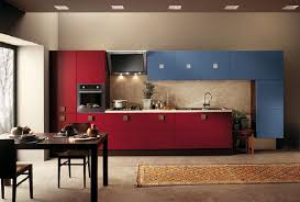 modern italian kitchen design blue and red italian kitchen cabinet design id507 modern italian