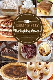 100 easy cheap thanksgiving desserts pinteres
