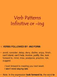 verb pattern hesitate verb patterns verb syntax