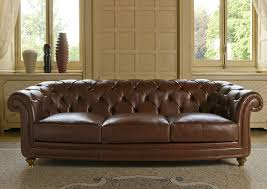 Fabric Chesterfield Sofa Bed by Chesterfield Sofa Leather Fabric 3 Seater Oxford Berto