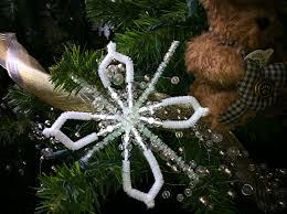 pipe cleaner snowflakes u2013 walmart craft thewallyworldwomanblog