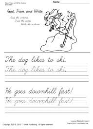 read trace and write cursive worksheets 1 5