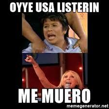 Laura Meme - oyye usa listerin me muero laura bozzo meme meme generator