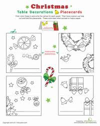 32 best christmas place cards images on pinterest christmas