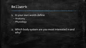 Human Anatomy Words The Human Body An Orientation Chapter An Overview Of Anatomy And