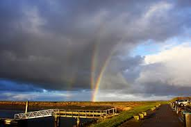 anomalous quadruple rainbows appear on the isle of terschelling
