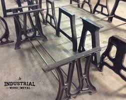 cast iron table bases for sale cast iron base etsy