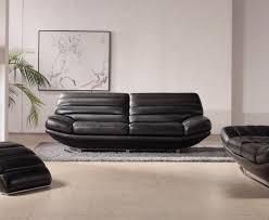 Black Leather Sofa Set Furniture Appealing Stunning Black Leather Sofa Synergy