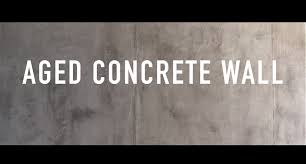 aged concrete wall youtube
