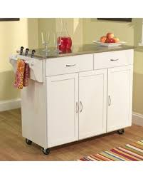 kitchen islands stainless steel top tis the season for savings on garrettsville kitchen island with