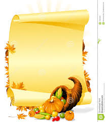 blank thanksgiving banquet invitation royalty free stock images