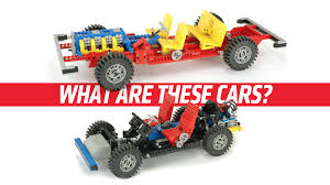 lego ford focus the mystery cars behind the first two lego car chassis sets