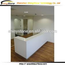 Mini Reception Desk Amazing Chain Shop Composite Solid Surface Mini Modern Reception