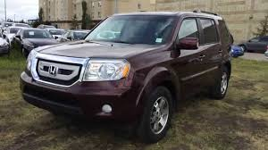 lexus rx or honda pilot pre owned maroon 2010 honda pilot 4wd touring walk around review