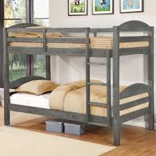 viv rae ralph twin over twin bunk bed u0026 reviews wayfair