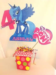 My Little Pony Party Centerpieces by My Little Pony Handmade Centerpiece Perfect For A Birthday On