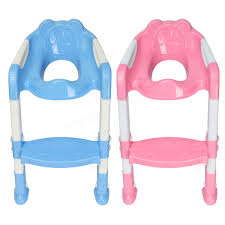 baby toddler kids potty toilet training safety adjustable ladder