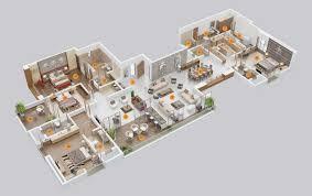 four bedroom house floor plan finest best images about floor