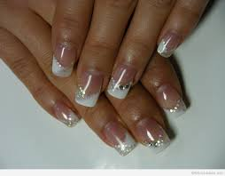 gel nails french manicure designs images nail art designs