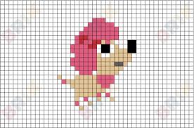 poodle pixel art u2013 brik