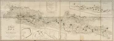 Map Of Jakarta A Map Of Java T S Raffles C 1817bartele Gallery