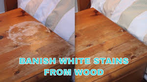 how to remove white spots of wood furniture iron out white water stains from wooden furniture