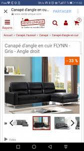 site vente canapé achat canape revendre meubles com