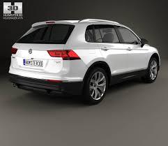 volkswagen tiguan 2016 white volkswagen tiguan highline 2015 3d model hum3d