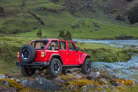 2018 jeep wrangler 2018 jeep wrangler rubicon first drive review automobile magazine
