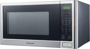 kenmore 75653 1 2 cu ft microwave oven stainless steel
