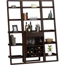 Crate And Barrel Bookshelves by Java Leaning Wine Bar I Crate And Barrel