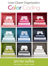 linen closet organization color coding fresh american style