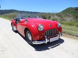 1957 triumph tr3 roadster sold